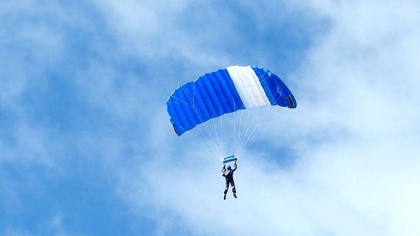 Skydiver Parachute