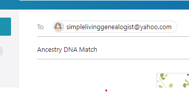 Emailing DNA Matches