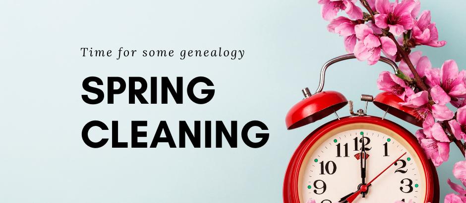 Genealogy Spring Reset