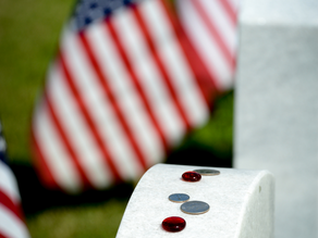 The Tranquil Messages Left on Soldiers' Headstones