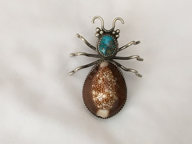 Shell Beetle Pin