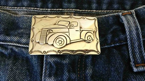 Classic custom truck buckle