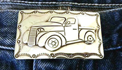 Chevy Truck Buckle