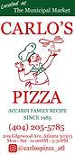 Carlo's Pizza Trifold Menu (Cover Page)_