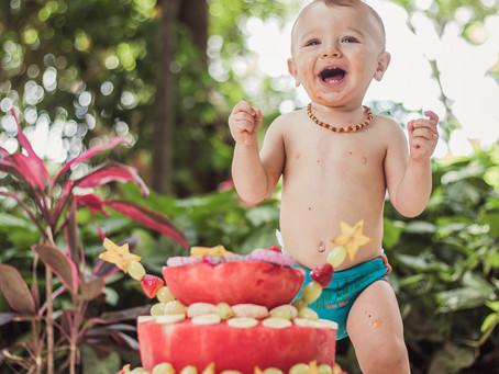 Smash the fruit de verão do Davi