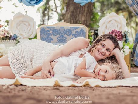 Mini ensaio Soraya - mamãe da Isabela e do Caio