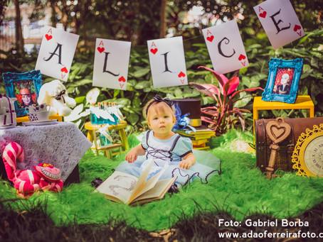 Smash the cake Alice {Alice no pais das maravilhas}