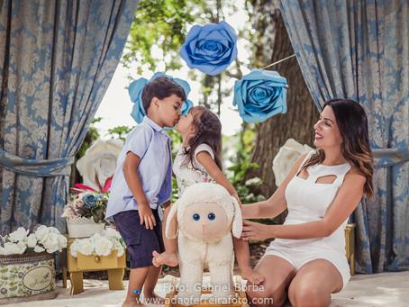 Mini de dia das Mães Aline - Mamãe do David e da Júlia