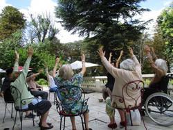 Yogana yoga maison de retraite