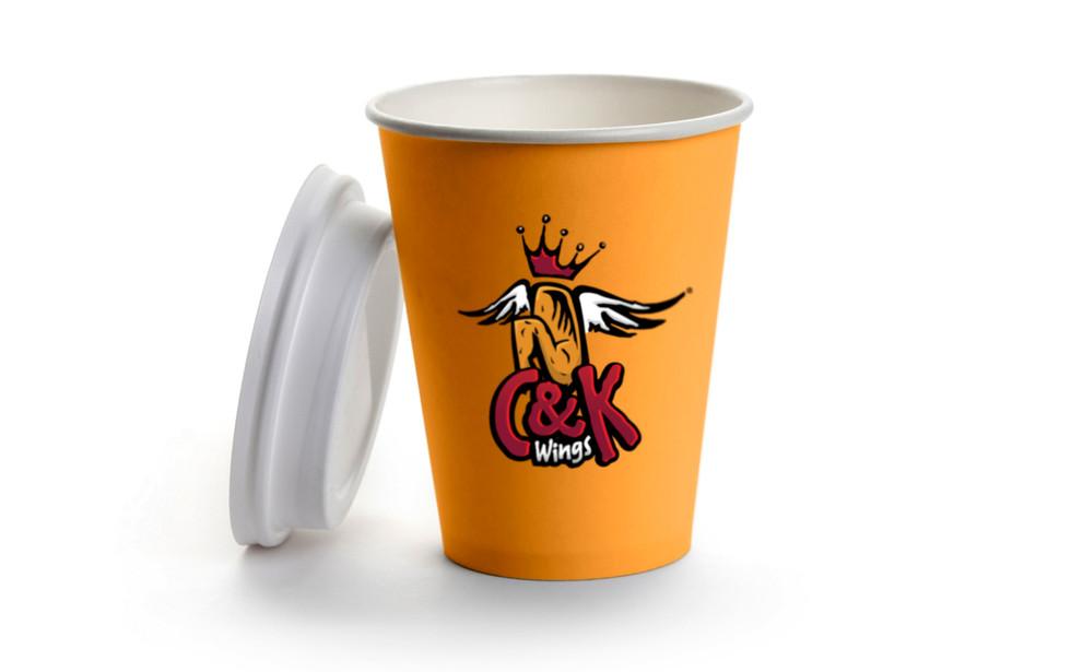 C&K Wings Paper Cup
