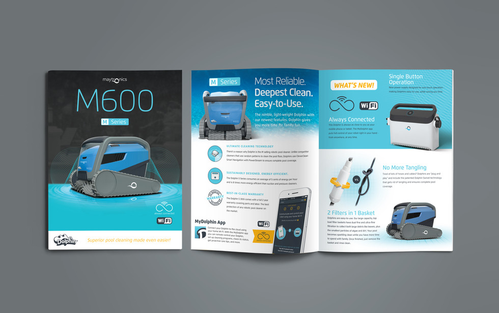 Maytronics M600 Product Brochure