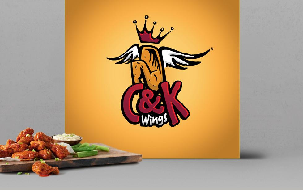 C&K Wings Logo