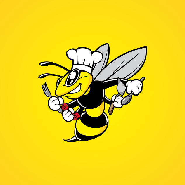 Bizzy Bee Mascot