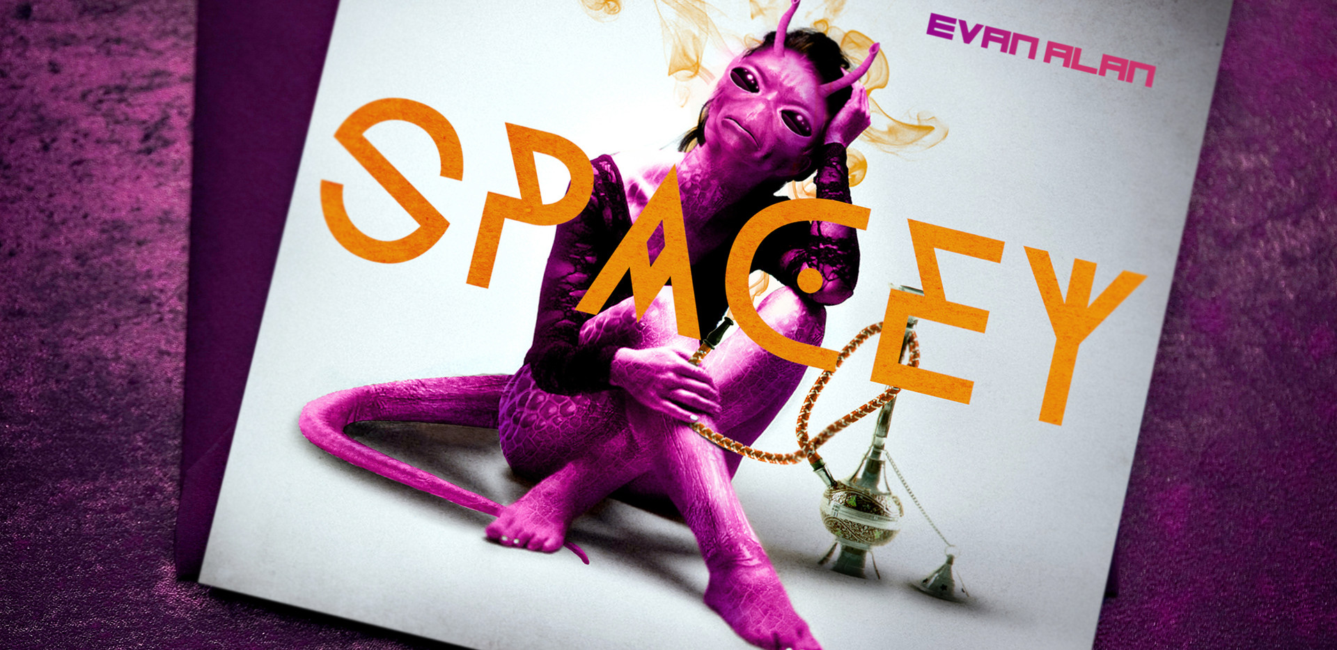 Spacey CD Cover