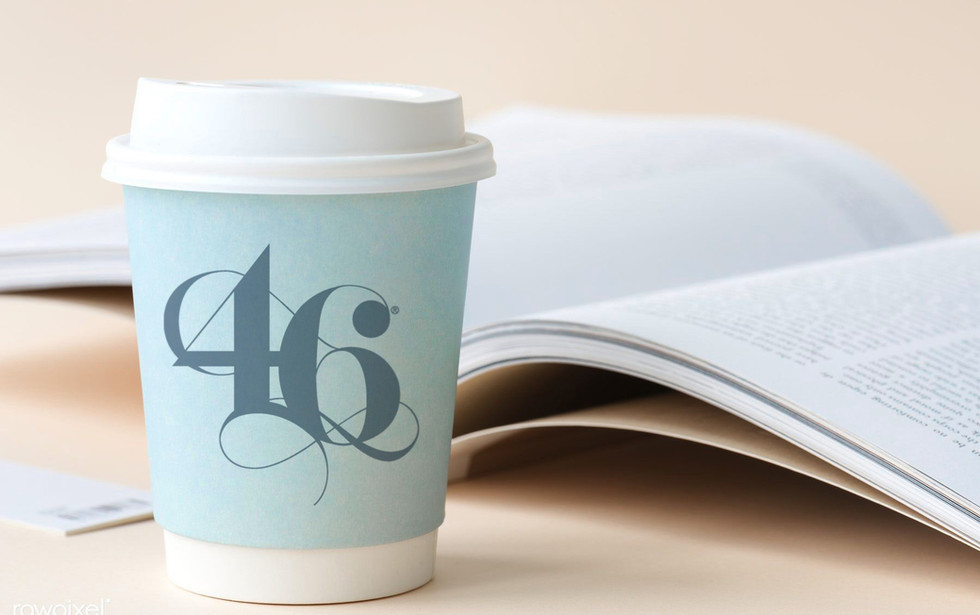 46 Calligraphy Coffe Cup