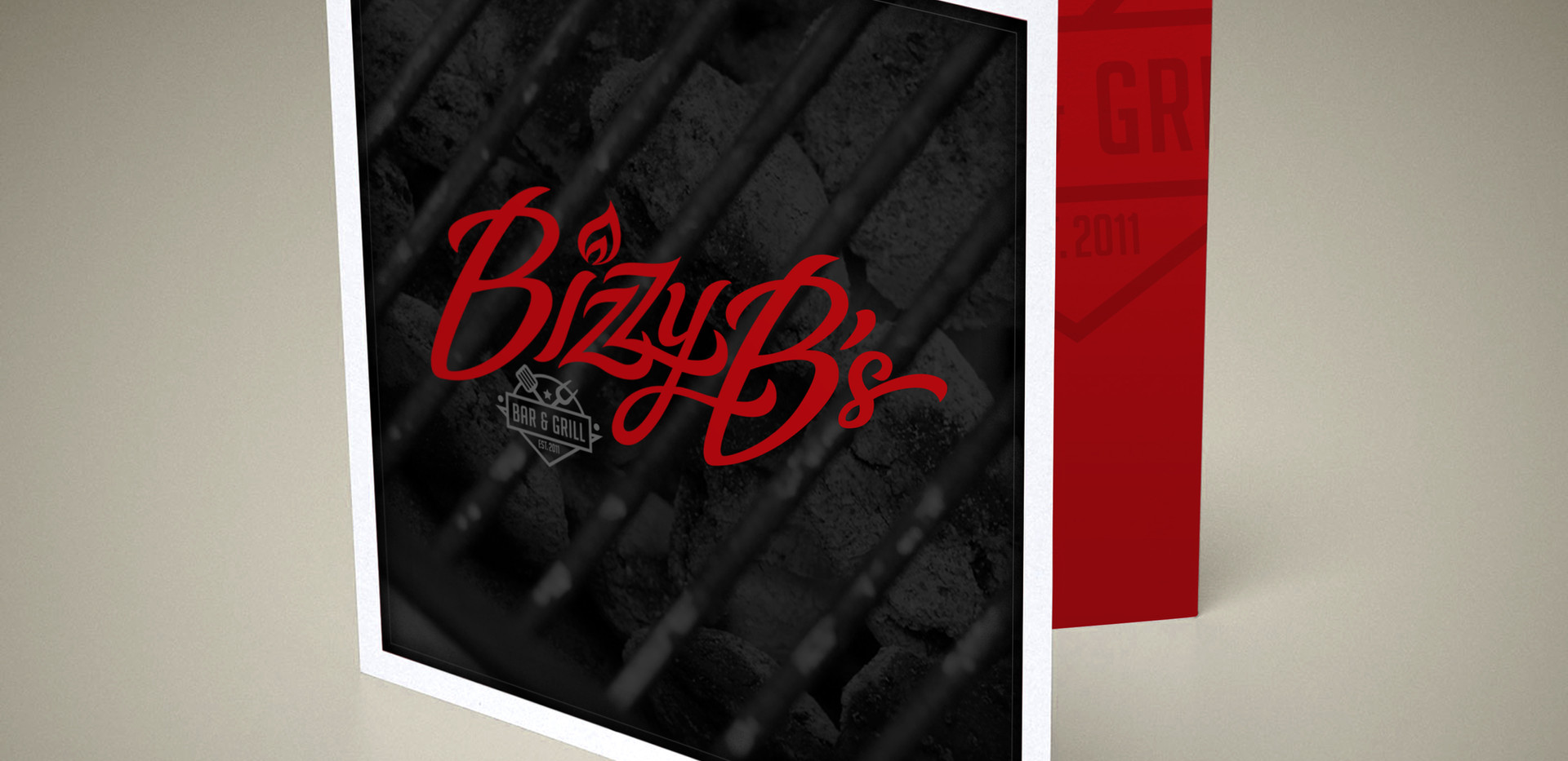 Bizzy B's Square Card