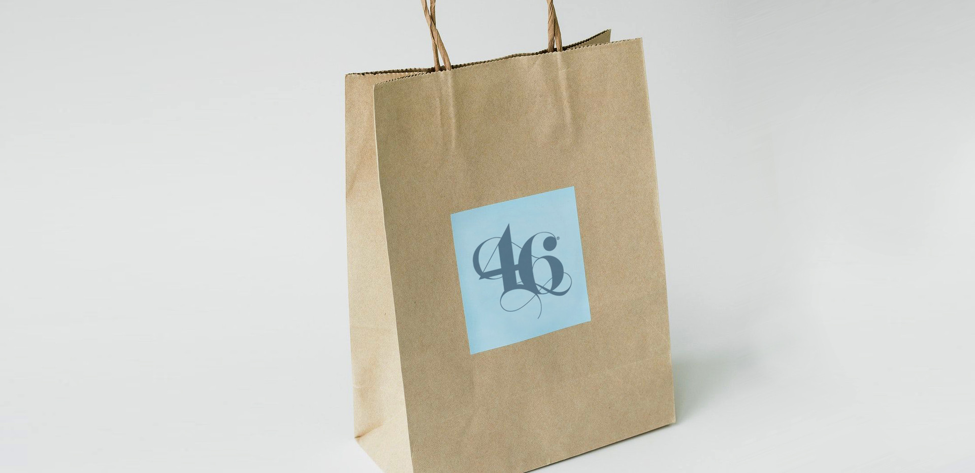 46 Calligraphy Shopping Bag