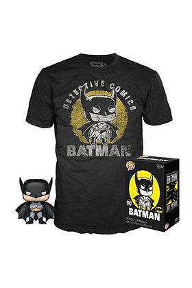 Funko pop DC Comics POP! & Tee Box Batman Sun Faded Exclusive