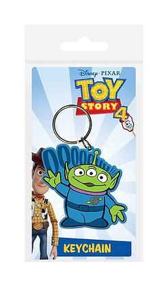 Portachiavi Toy Story 4 Rubber Keychain Alien 6 cm
