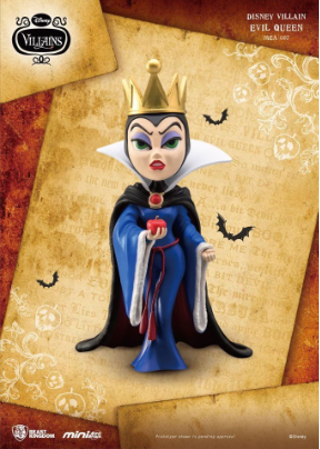 Disney - Villains Mini Egg Attack Figure Evil Queen 10 cm