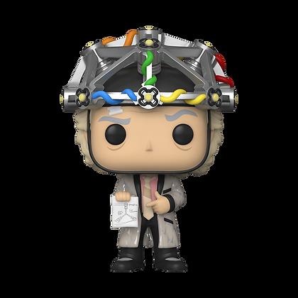 Funko Pop Back to the Future Doc w/ helmet