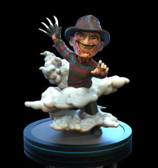 Q-Fig - Horror - Nightmare on Elm Street Freddy Krueger 10 cm