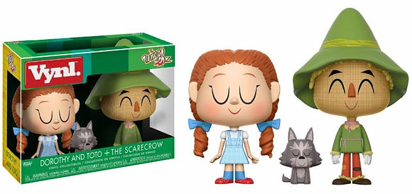 Funko Vynl - Movie - Dorothy With Toto and The Scarecrow