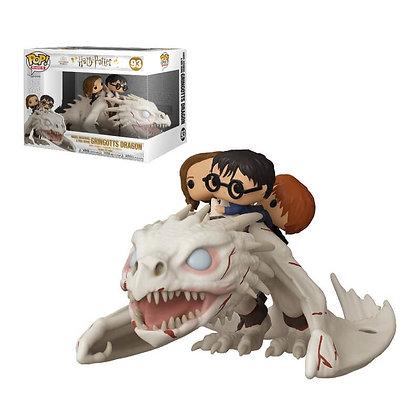 Funko Pop Ride Dragon w/ Harry, Ron, & Hermione