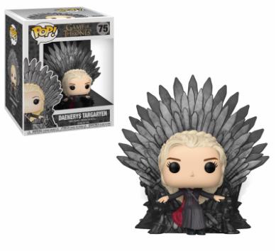 Funko Pop - Deluxe - Game of Thrones - Daenerys Sitting on Throne