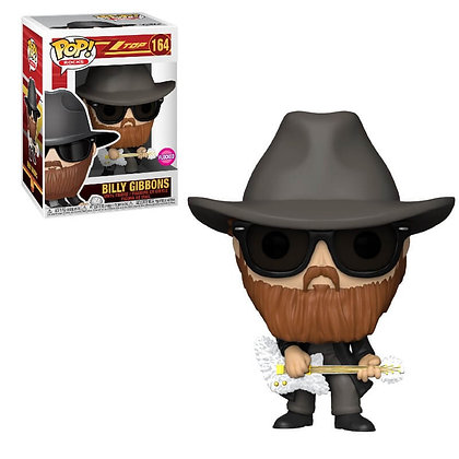 Funko Pop - ZZ Top - Billy Gibbons FLOCKED
