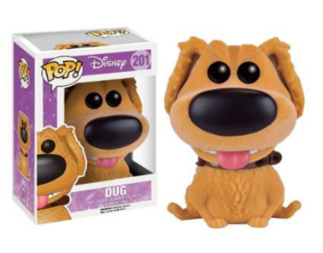 Funko Pop Disney UP Dug exc. Flocked (no bollino)