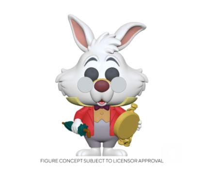 Funko Pop Disney Alice 70th – White Rabbit w/ Watch