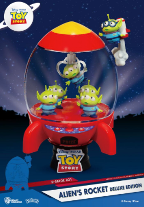 Statue - Toy Story D-Stage PVC Diorama Alien's Rocket Deluxe Edition 15 cm