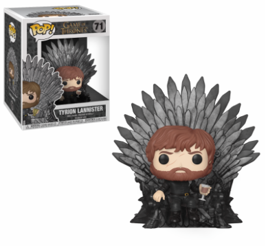 Funko Pop - Deluxe - Game of Thrones - Tyrion Sitting on Throne