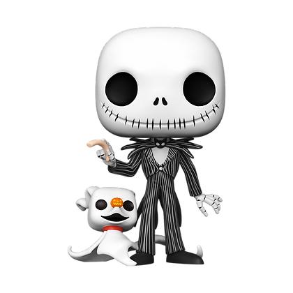 "Funko Pop Disney NBC - 10"" Jack w/Zero"