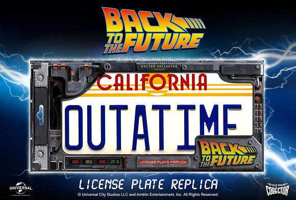 Back To The Future Replica 1/1 ´Outatime´ DeLorean License