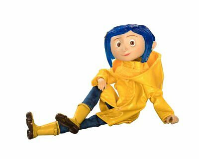 Action Figure - Coraline Articulated Figure Coraline in Raincoat 18cm