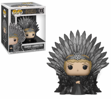 Funko Pop - Deluxe - Game of Thrones - Cersei Sitting on Throne