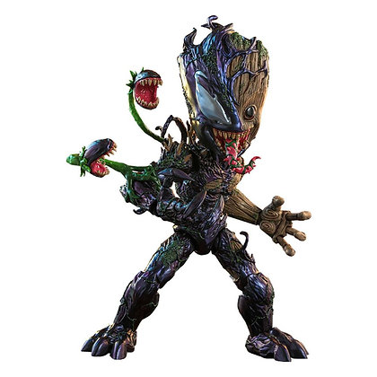 Marvel's Spider-Man Maximum Venom Artist Collection 1/6 Venomized Groot 25 cm