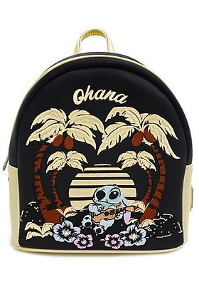 Loungefly - Disney Lilo & Stitch Satin Back Pack