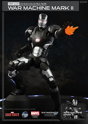 Action Figure - Marvel - War Machine Mark II Ver.2 Super Alloy  15cm