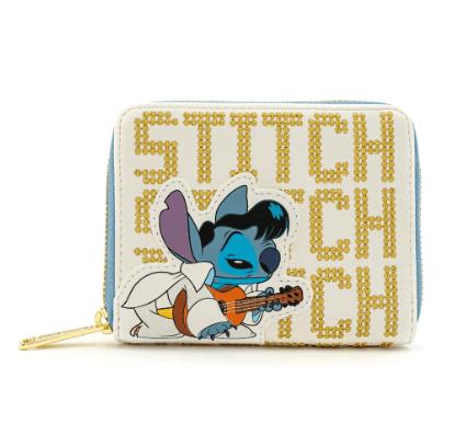 Loungefly X Disney Lilo and Stitch Elvis Stitch Zip around Wallet