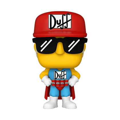 Funko Pop  Simpsons Duffman