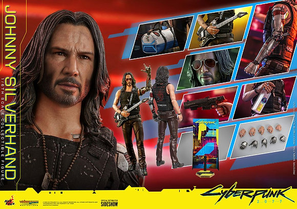 Hot Toys Cyberpunk 2077 Video Game Masterpiece 1/6 Johnny Silverhand 31 cm
