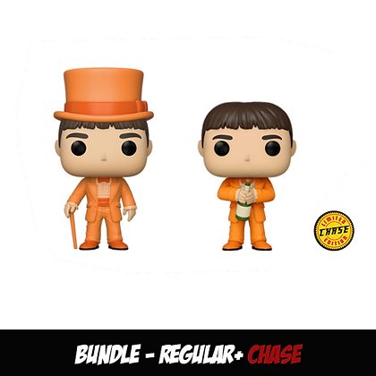 Funko Pop Dumb & Dumber -Lloyd In Tux Bundle (Regular+Chase)