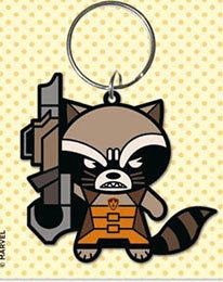 Portachiavi - Marvel - Rocket Raccoon gomma 6cm