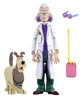Back to the Future Toony Classics Action Figures 15 cm Serie 1 Doc and Einstein