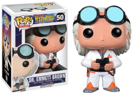 Funko Pop - Movie - BTTF Doc Brown