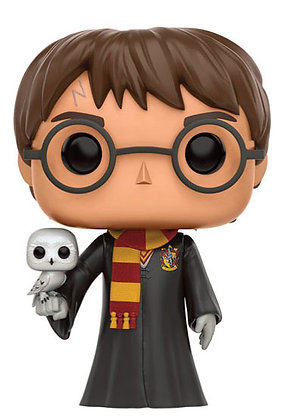 Funko Pop - Harry Potter - Harry with Hedwig (RISTAMPA)