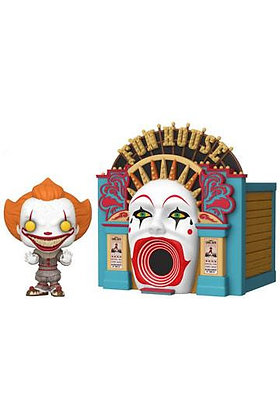 Funko Pop - Movies -  Pop Town IT 2 - Demonic Pennywise w/Funhouse